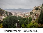 cuenca is a city in the... | Shutterstock . vector #502850437