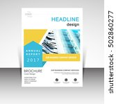 business annual report brochure ...   Shutterstock .eps vector #502860277