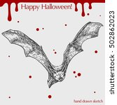 vector linear illustration of... | Shutterstock .eps vector #502862023