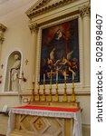 city of san marino  sm   may 11 ... | Shutterstock . vector #502898407