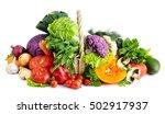 fresh vegetables. | Shutterstock . vector #502917937