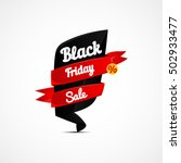 black friday sale poster ... | Shutterstock .eps vector #502933477