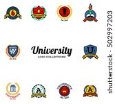 university  academy  college... | Shutterstock .eps vector #502997203