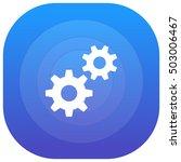 services purple   blue circular ...