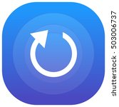 restart purple   blue circular...