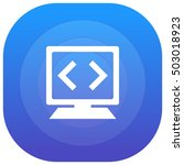 code purple   blue circular ui...