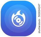 burn cd purple   blue circular...