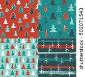 winter background. seamless...   Shutterstock .eps vector #503071543