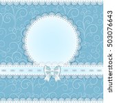 Lace Napkin With Decorative ...