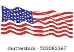 american flag | Shutterstock .eps vector #503082367