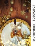 family holiday  christmas table ...   Shutterstock . vector #503092927