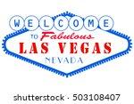 las vegas nevada | Shutterstock .eps vector #503108407