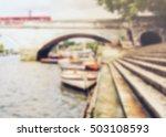 Vintage Color Of River Side...