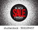 black friday sale vector... | Shutterstock .eps vector #503109457