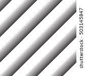 seamless diagonal stripe... | Shutterstock .eps vector #503145847