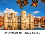 Historic Bodiam Castle With...