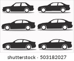 car icon collection vector set... | Shutterstock .eps vector #503182027
