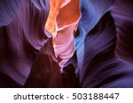 lower antelope canyon near page ... | Shutterstock . vector #503188447