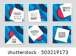 abstract vector layout... | Shutterstock .eps vector #503219173