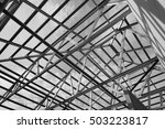 black and white photo structure ... | Shutterstock . vector #503223817