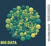 big data visualization.... | Shutterstock .eps vector #503231023