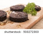 grilled home made irish black... | Shutterstock . vector #503272303
