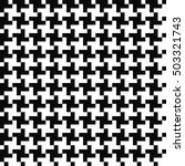 houndstooth seamless pattern | Shutterstock .eps vector #503321743
