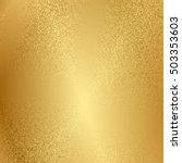 vector metal texture. gold... | Shutterstock .eps vector #503353603