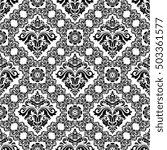 oriental classic pattern.... | Shutterstock . vector #503361577