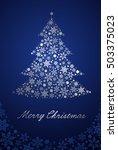 christmas tree | Shutterstock .eps vector #503375023