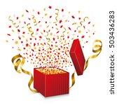 open gift box | Shutterstock .eps vector #503436283