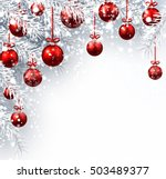 new year background with... | Shutterstock .eps vector #503489377