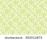 seamless pattern with floral... | Shutterstock .eps vector #503512873