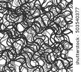 random chaotic lines abstract... | Shutterstock . vector #503540377