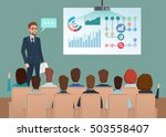 business professional work team ... | Shutterstock .eps vector #503558407