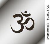 om   aum   symbol of hinduism...   Shutterstock .eps vector #503575723