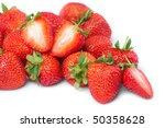fresh and tasty strawberries | Shutterstock . vector #50358628