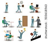 business people group human... | Shutterstock .eps vector #503618563