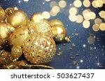 family holiday  christmas tree... | Shutterstock . vector #503627437