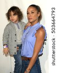 Small photo of LOS ANGELES - OCT 23: John Aether Ramirez Land, Dania Ramirez at the Elizabeth Glaser Pediatric AIDS Foundation A Time For Heroes Event at Smashbox Studios on October 23, 2016 in Culver City, CA