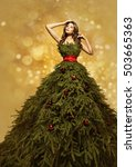 Fashion Model Christmas Tree...