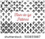 Heraldic Seamless Patterns Of...