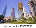 taipei  taiwan   october 25 ...   Shutterstock . vector #503872783