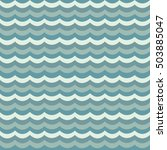 blue wavy pattern   Shutterstock .eps vector #503885047