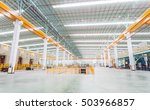 factory workshop interior and... | Shutterstock . vector #503966857