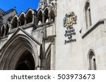 Exterior Of The Royal Courts O...