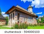 The Moldovita Monastery ...