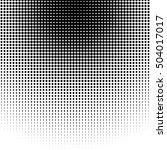 circle halftone pattern  ... | Shutterstock .eps vector #504017017
