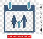 vector family calendar day eps...   Shutterstock .eps vector #504018073