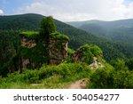 amazing nature view of green... | Shutterstock . vector #504054277